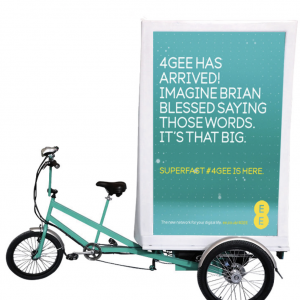 Advertising Bike