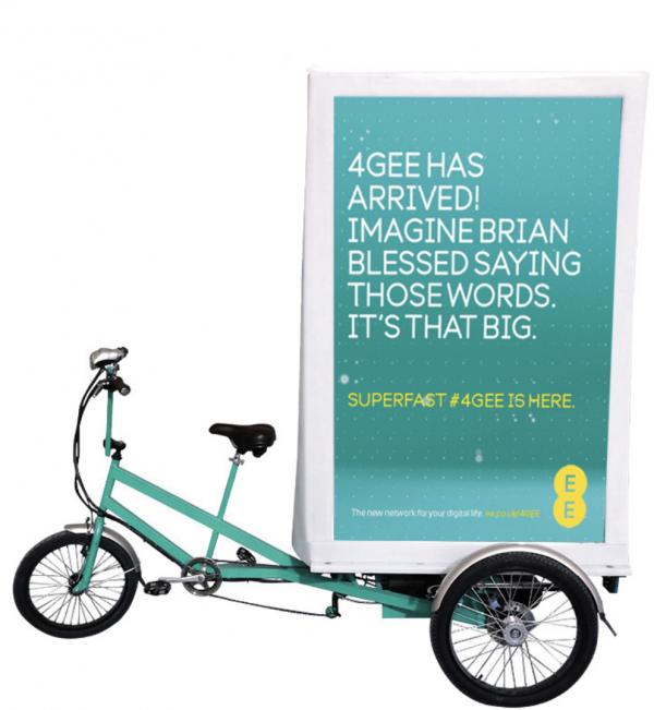 Advertising Bike
