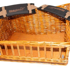 wicker usherette trays