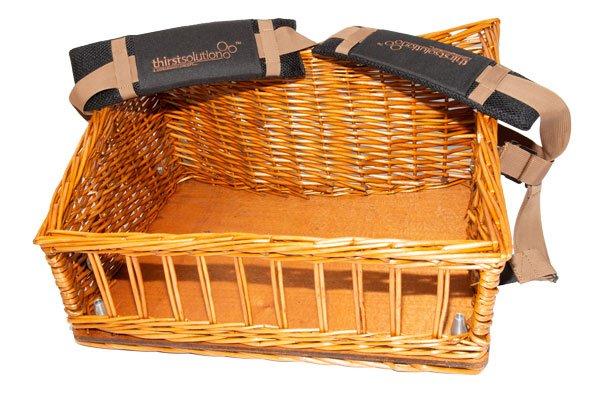 wicker usherette trays