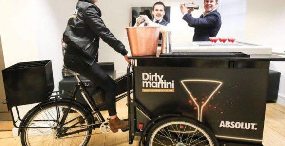 Branded Vending Cart